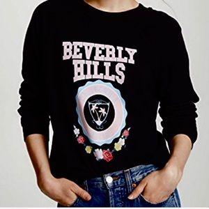 NWT Wildfox Beverly Hills 90210 graphic sweatshirt